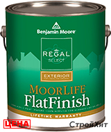 Benjamin Moore / Бенджамин Мур 105. Regal Select Exterior - Moorlife Flat Finish