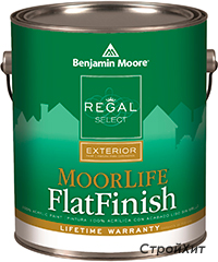 105. Regal Select Exterior - Moorlife Flat Finish