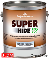 Benjamin Moore / Бенджамин Мур 357 Super Hide Zero VOC Interior Eggshell