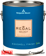 Benjamin Moore / Бенджамин Мур 549. Regal Select Eggshell Finish