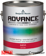 Benjamin Moore / Бенджамин Мур 792. Advance Waterborne Interior Alkyd Satin