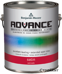 792. Advance Waterborne Interior Alkyd Satin